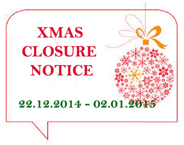 christmas closed sign template