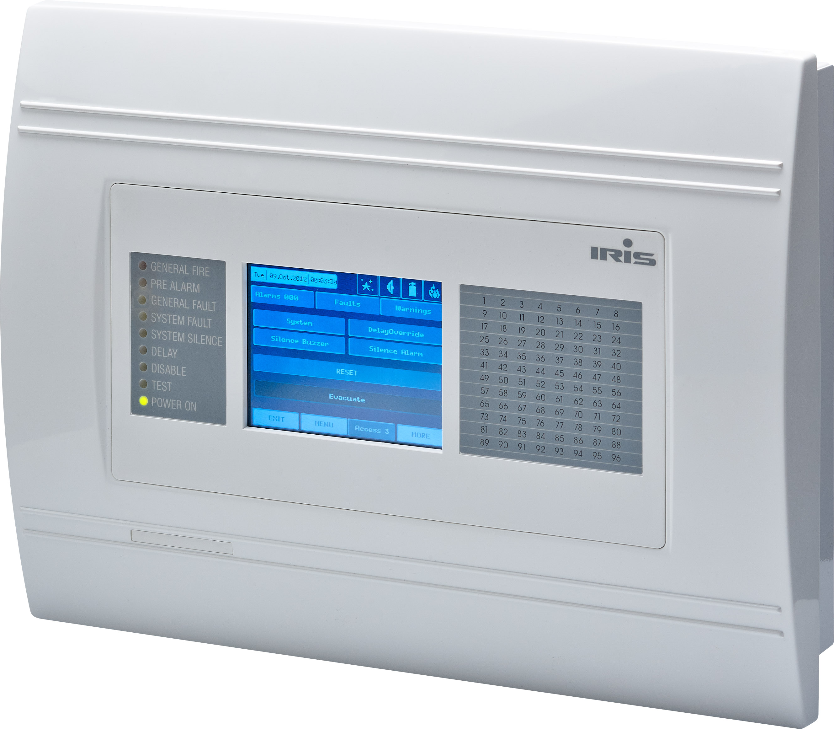 IRIS Addressable Fire Alarm Panel - Teletek electronics