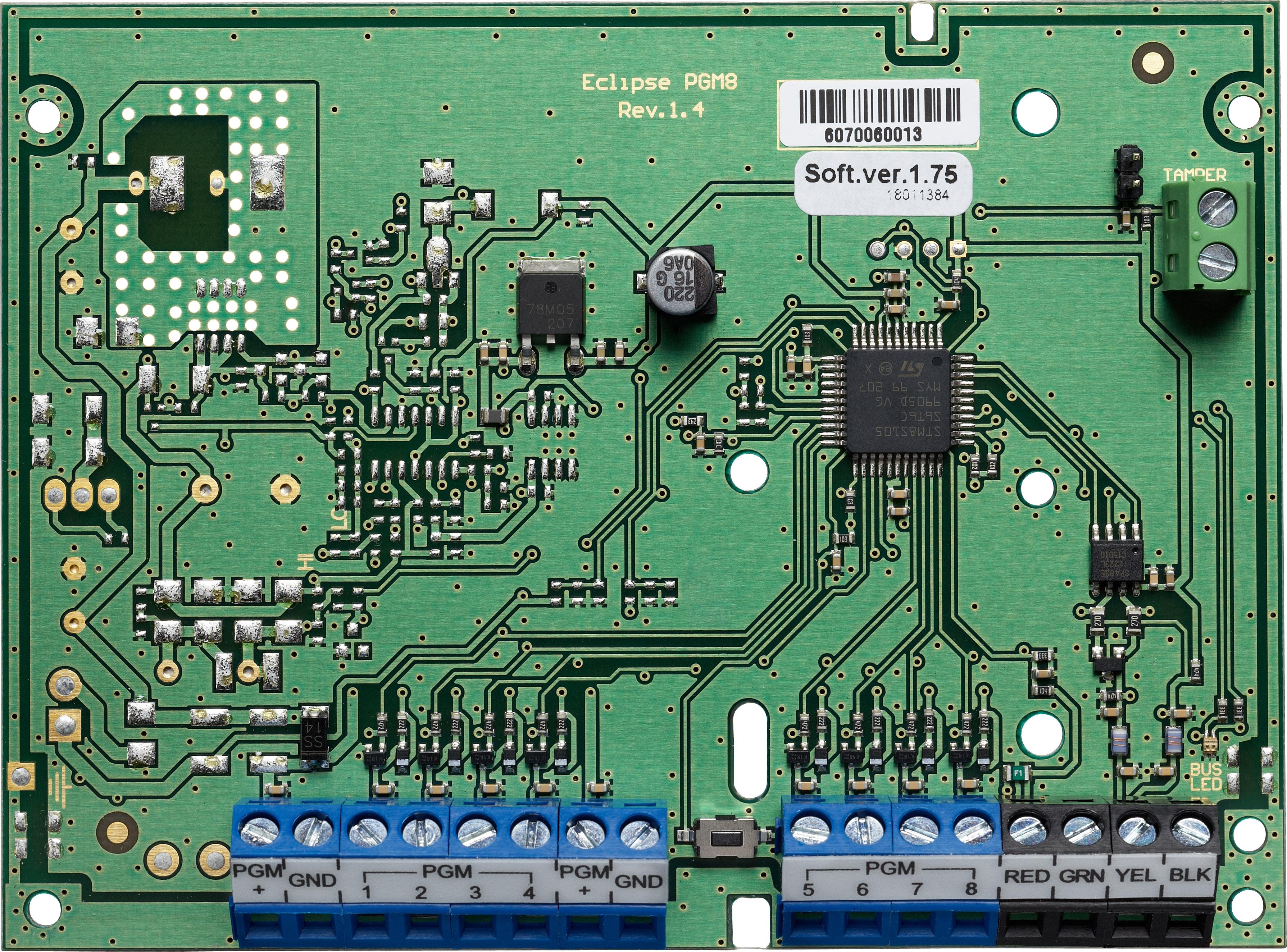 Eclipse PGM 8 - PGM Expander Module - Teletek electronics